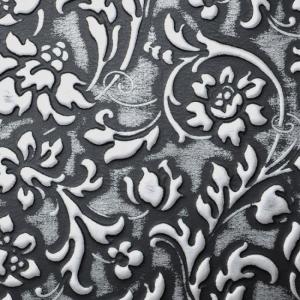 SIBU FLORAL Black/Silver mat 1.6x1000x2612мм с клеем