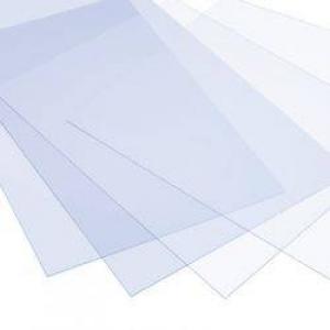 ПВХ прозрачный 1,0х1220х2440мм, Palclear Matt, антибликовый