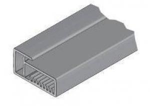 15.7740 Рамочн. профиль алюм. 23х45 мм, 3м, паз 4 мм