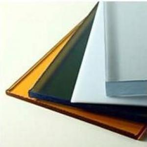 Поликарбонат монолитный 3х2050х3050мм синий Sky blu 50% UVP2