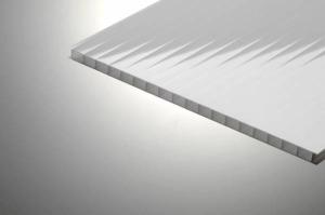 Поликарбонат сотовый 8х2100х12000мм Silver, PLG