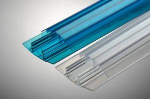Профиль соединительный HP 4-6мм прозрачный, L=6м, Карбогласс