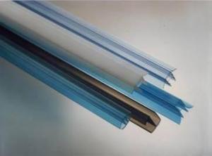 Профиль торцевой UP 10мм прозрачный, L=2,1м, Карбогласс