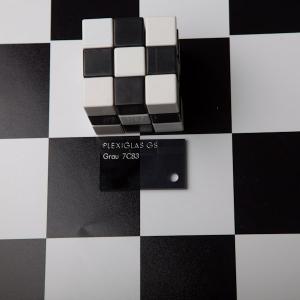 Оргстекло серое тонир. Plexiglas GS