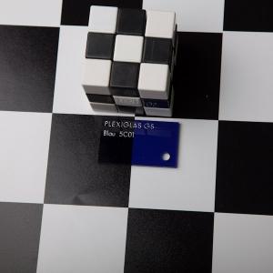 Оргстекло синее прозр. Plexiglas GS