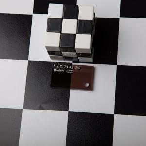 Оргстекло коричневое тонир. Plexiglas GS