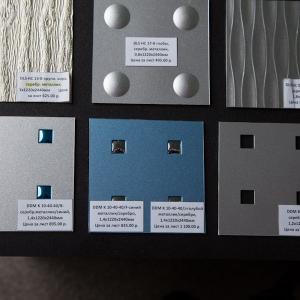DLS HC 09-B ассим. волна, серебр. металлик, 1,8х1220х2440мм