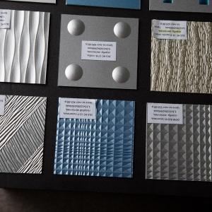 DDM K 10-40-40/В-серебряный металлик, 1,2х1220х2440мм