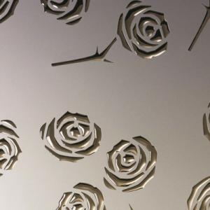 SIBU 3D Roses Champagner pf met/Gold 1,4х1000х2600 с клеем