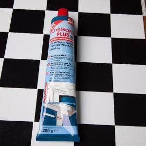 Клей для ПВХ Cosmofen plus HV прозр., 200 г