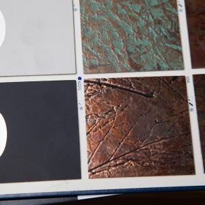 HPL 622G Copper Relief Autumn Leaves 1,3х1220х2440мм