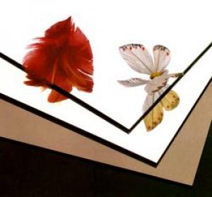 Акриловое зеркало Plexiglas, серебро 3х2050х3050мм
