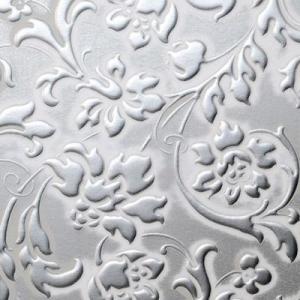 SIBU FLORAL White/Silver mat 1.6x1000x2612 с клеем