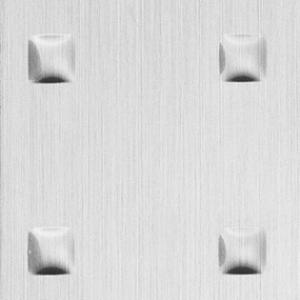 SIBU Square 3  Silver brushed  1х1000х2612мм