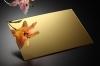 Акриловое зеркало SPECCHIDEA, золото 3х2050х3050мм