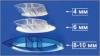 Профиль соединительный HP 10мм прозрачный, L=6м, Карбогласс