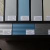 DDM K 10-40-40/J-голубой металлик/серебро, 1,4х1220х2440мм